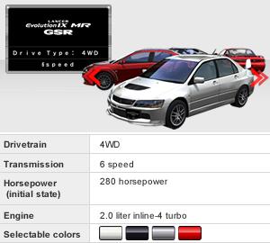 wangan midnight maximum tune 5 rh wanganmaxi official com Mitsubishi Evolution 6 Mitsubishi Evolution 4