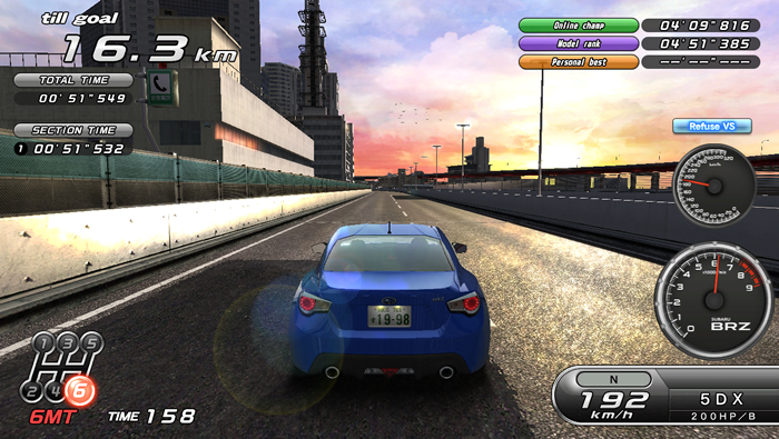 Time Attack Mode|Game Modes|WANGAN MIDNIGHT MAXIMUM TUNE 5DX