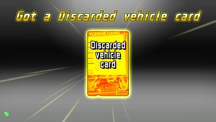 Discarded Vehicle Card|Terminal Unit|WANGAN MIDNIGHT MAXIMUM TUNE 5DX