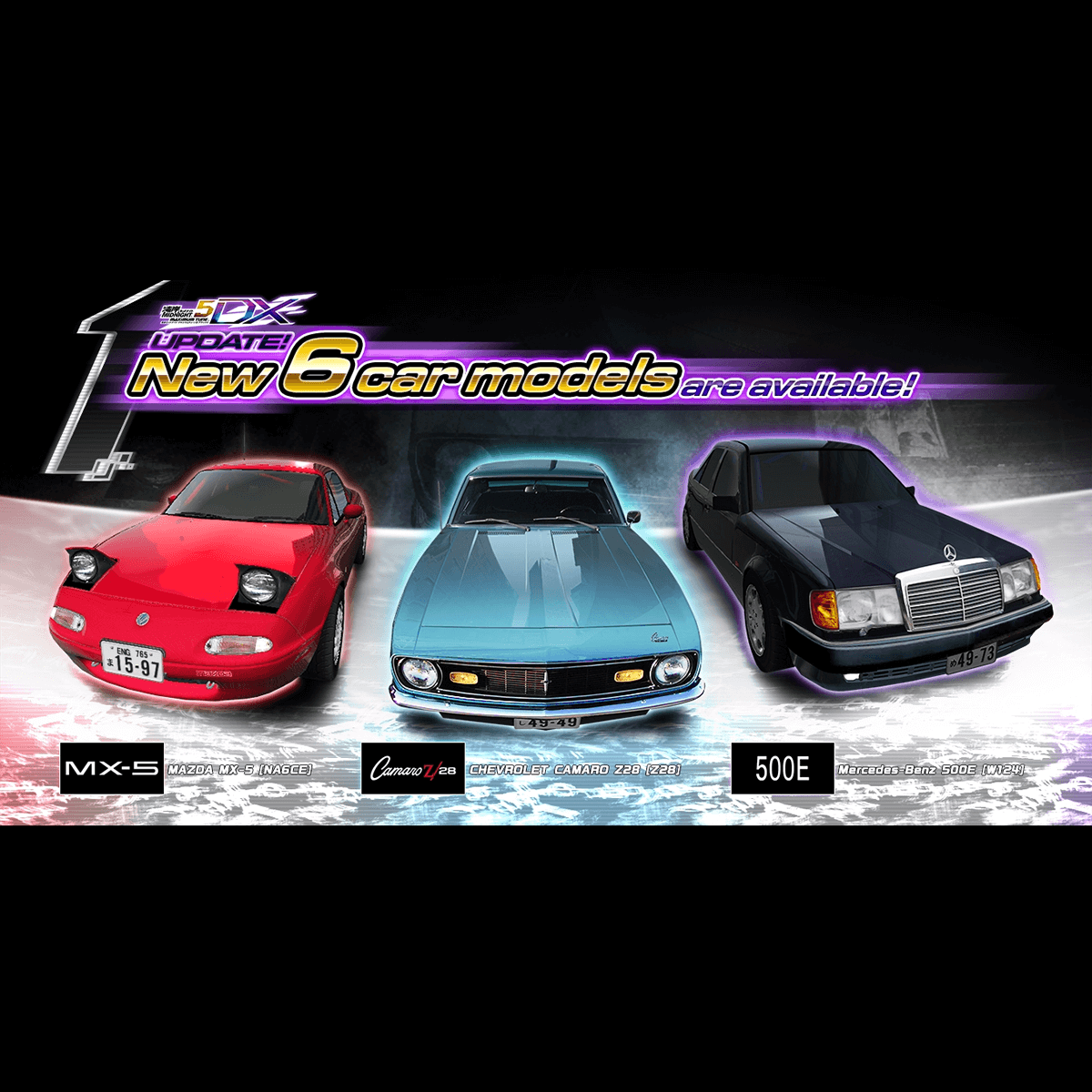 The October 2016 Version update is here!|WANGAN MIDNIGHT ...