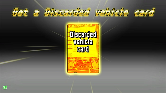 Discarded Vehicle Card Terminal Unit WANGAN MIDNIGHT